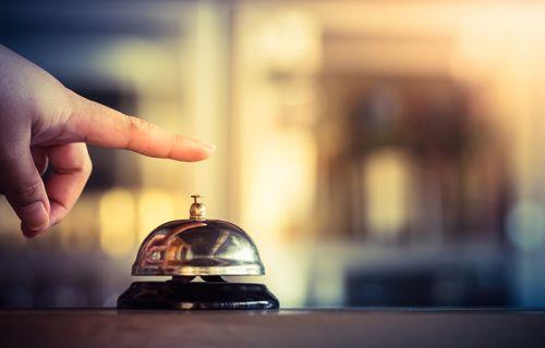 Finger ringing bell service