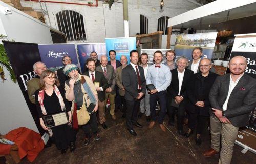 Group of heritage award winners
